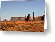 Monument Valley - Icon Of The West Greeting Card by Christine Till