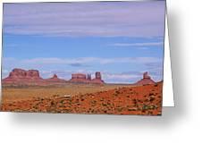 Monument Valley Greeting Card by Viktor Savchenko