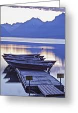 Mood Indigo Greeting Card by Jon Glaser