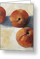 More Georgia Peaches Greeting Card by Torrie Smiley