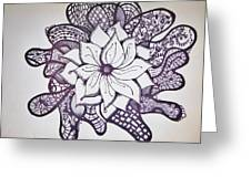 More Than A Flower Greeting Card by Lori Thompson