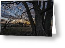 Morning At Valley Forge Greeting Card by Photos By Jeff