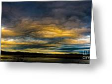 Morning Canvas Greeting Card by Mitch Shindelbower