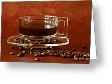 Morning Coffee Greeting Card by Inspired Nature Photography By Shelley Myke