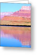 Morning Light - Vermillion Cliffs And Colorado River Greeting Card by Douglas Taylor