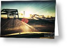 Morning On The Leo Frigo Bridge Greeting Card by Shutter Happens Photography