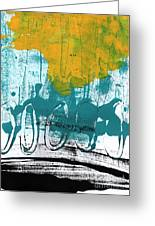 Morning Ride Greeting Card by Linda Woods