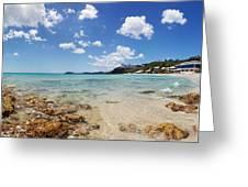 Morningstar Beach Greeting Card by Jo Ann Snover