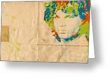 Morrison Watercolor Splash Greeting Card by Paulette B Wright