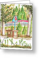 Motel 6 In Mammoth Lakes - California Greeting Card by Carlos G Groppa