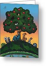Mother Natures Son II Greeting Card by Victoria De Almeida