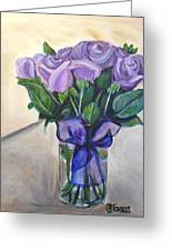 Mother's Day Roses Greeting Card by Melissa Torres