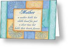 Mother's Day Spa Greeting Card by Debbie DeWitt