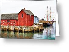 Motif Number 1 Rockport Ma Greeting Card by Jack Schultz