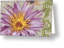 Moulin Floral 1 Greeting Card by Debbie DeWitt