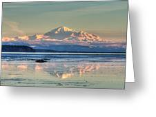 Mount Baker North Cascades National Park Greeting Card by Pierre Leclerc Photography