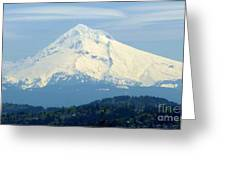 Mount Hood  Greeting Card by Susan Garren