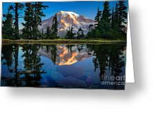 Mount Rainier From Tatoosh Range Greeting Card by Inge Johnsson