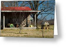 Mountain Cabin in Tennessee 1 Greeting Card by Douglas Barnett