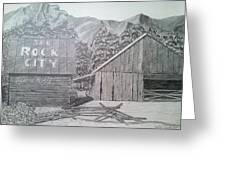 Mountain Memories Greeting Card by Tony Clark