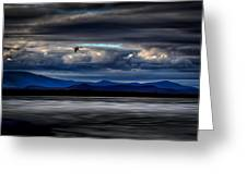 Mountain View - Mt. Katahdin Greeting Card by Gary Smith