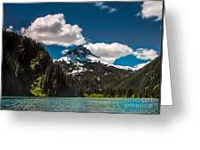 Mountain View Greeting Card by Robert Bales