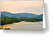 Mountain View Greeting Card by Frozen in Time Fine Art Photography