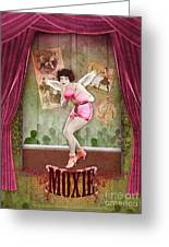 Moxie Greeting Card by Aimee Stewart