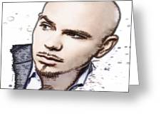 Mr 305 Greeting Card by Cheryl Young