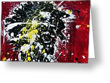Mr. Nobody Greeting Card by Ismeta Gruenwald
