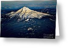 Mt Hood Greeting Card by Jon Burch Photography