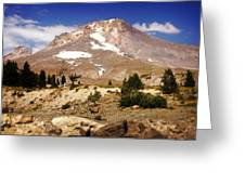 Mt. Hood Greeting Card by Marty Koch