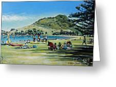 Mt Maunganui Pilot Bay 201210 Greeting Card by Selena Boron