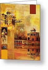 Mughal Art Greeting Card by Catf