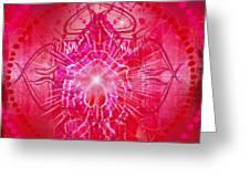 Muladhara - Chakra 1 Greeting Card by Christine Louise Bryant