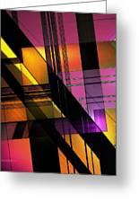 Multicolored Combination Art Greeting Card by Mario  Perez
