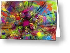 Multicoloured Boys Greeting Card by Tim Gainey