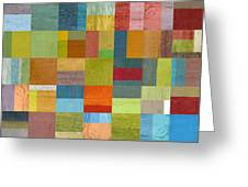 Multiple Exposures L Greeting Card by Michelle Calkins