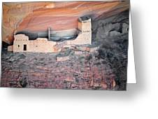 Mummy Cave Ruin Canyon Del Muerto Greeting Card by Christine Till