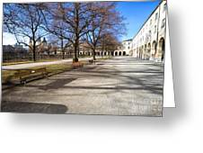 Munich Impression II Greeting Card by Juergen Klust