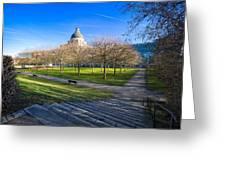 Munich Impression Greeting Card by Juergen Klust