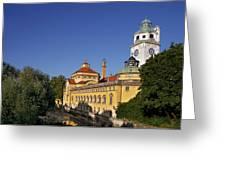 Munich - Mueller'sches Volksbad - Au-haidhausen Greeting Card by Christine Till
