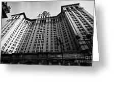 municipal building centre street new york city Greeting Card by Joe Fox