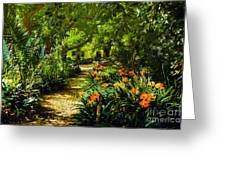 Muratie Gardens Greeting Card by Rick Bragan