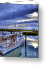 Murrells Inlet Morning Greeting Card by Mel Steinhauer