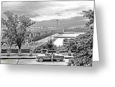 Muscle Shoals Greeting Card by Chuck Staley