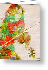Music In My Soul Greeting Card by Nikki Smith