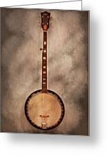 Music - String - Banjo  Greeting Card by Mike Savad