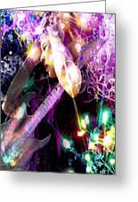 Musical Lights Greeting Card by Mechala  Matthews