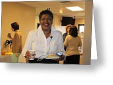 My Beautiful Friend Greeting Card by Carolyn Ricks